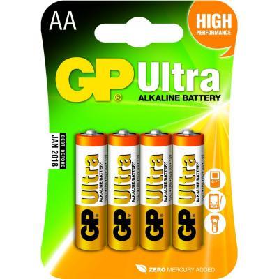 GP Ultra Alkaline LR06 (AA)     blister 4 (15A)