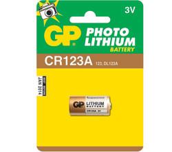 GP CR123A Lithium blister 1 stuks