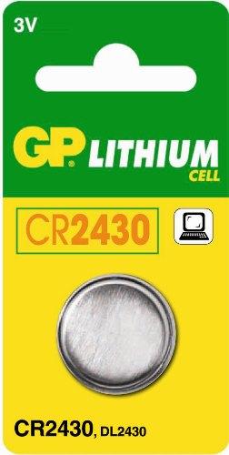 GP Lithium knoopcel CR2430, blister 1