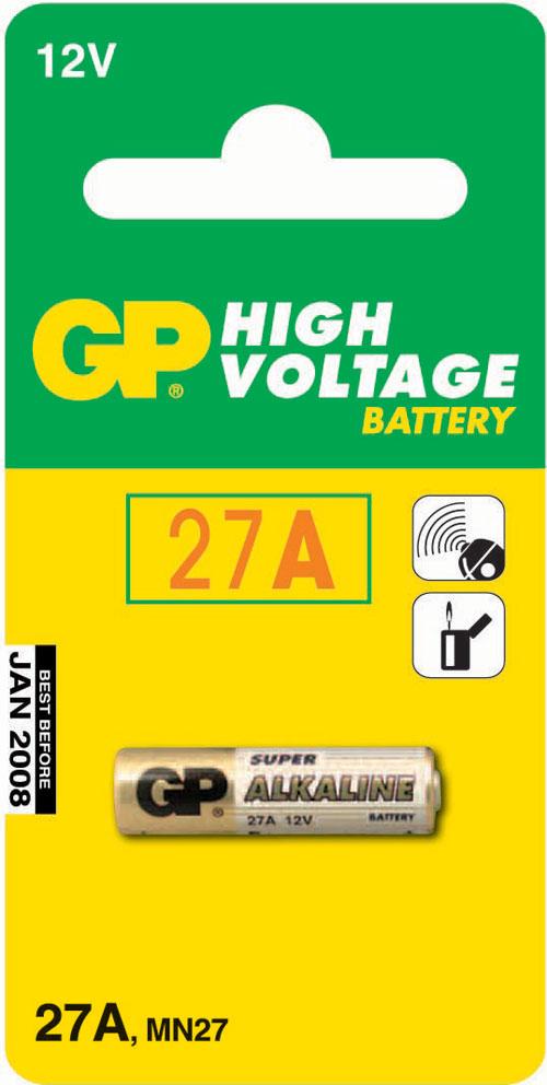 GP 27A (12V) 7.7x28mm MN27