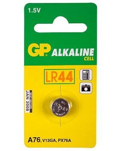 GP LR44 Alkaline knoopcel 76A (V13GA/L1154) 1.5V 110mAh