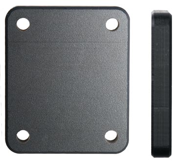 Brodit distance mounting plate 42x50x7/AMPS