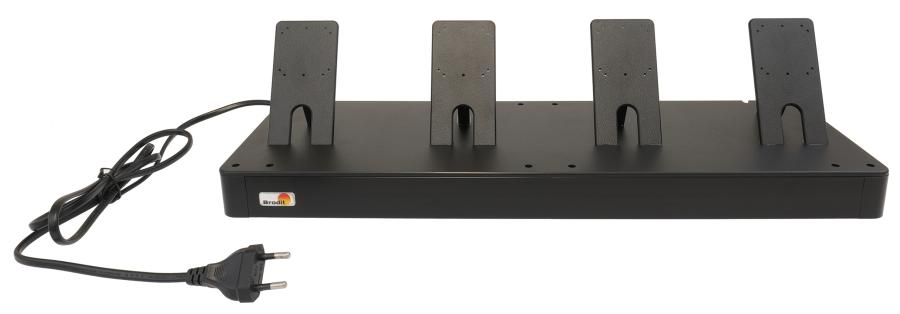 Brodit table stand - 4 locks for USB holders
