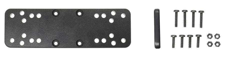 Brodit mounting plate for Sonar 160x50x7 AMPS