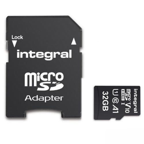 Integral 32GB V10 High Speed microSDHC Card-class 10