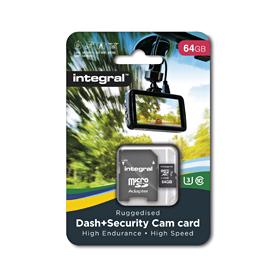 Integral Dash Cam MicroSDHC/XC 128GB Class 10 95MB/s-60MB/s