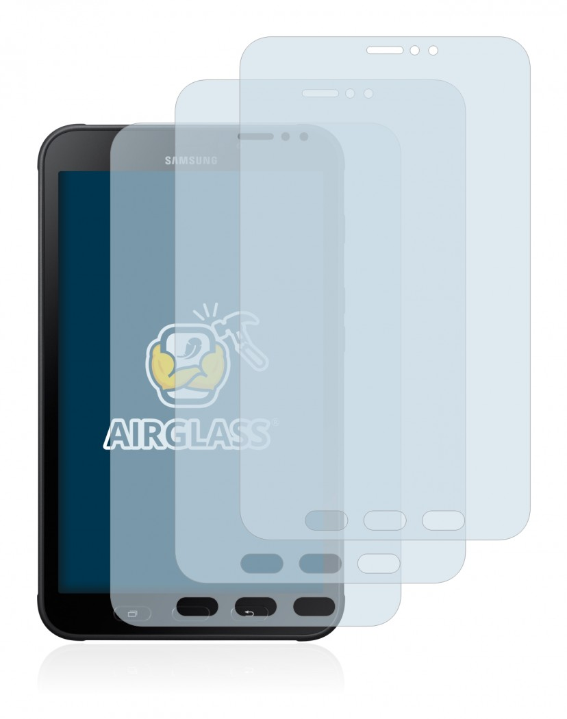 Screen protector 3-pack Samsung Galaxy Tab Active 2 - glas