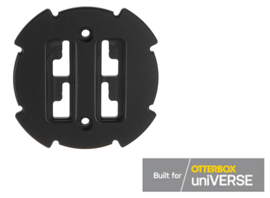Brodit 4-prong female plate for Otterbox uniVERSE tablet