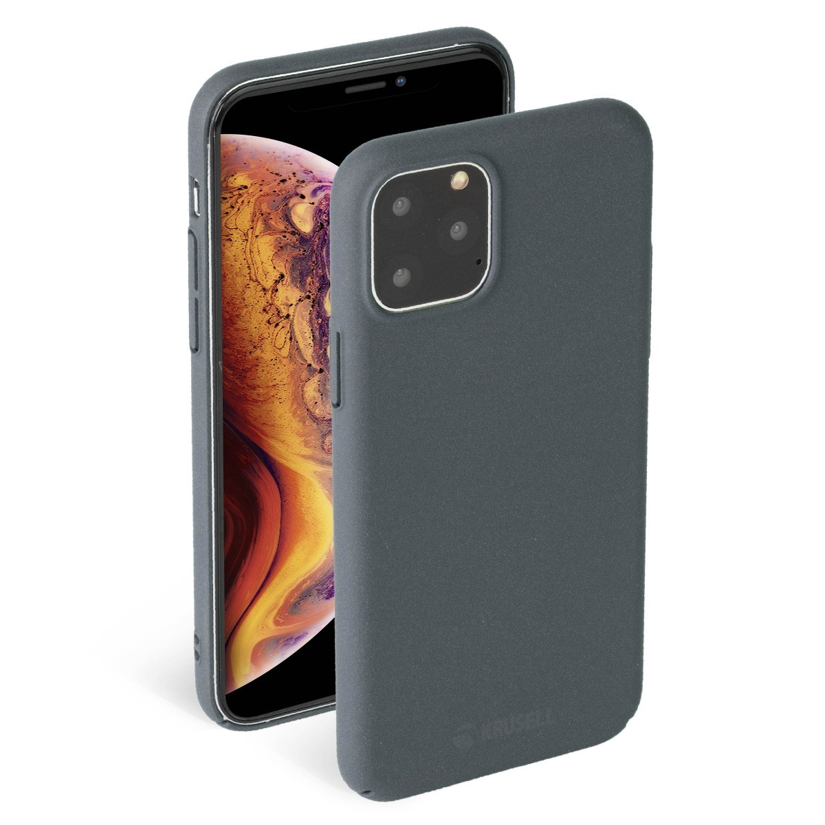 Krusell Sandby Cover Apple iPhone 11 Pro - Stone