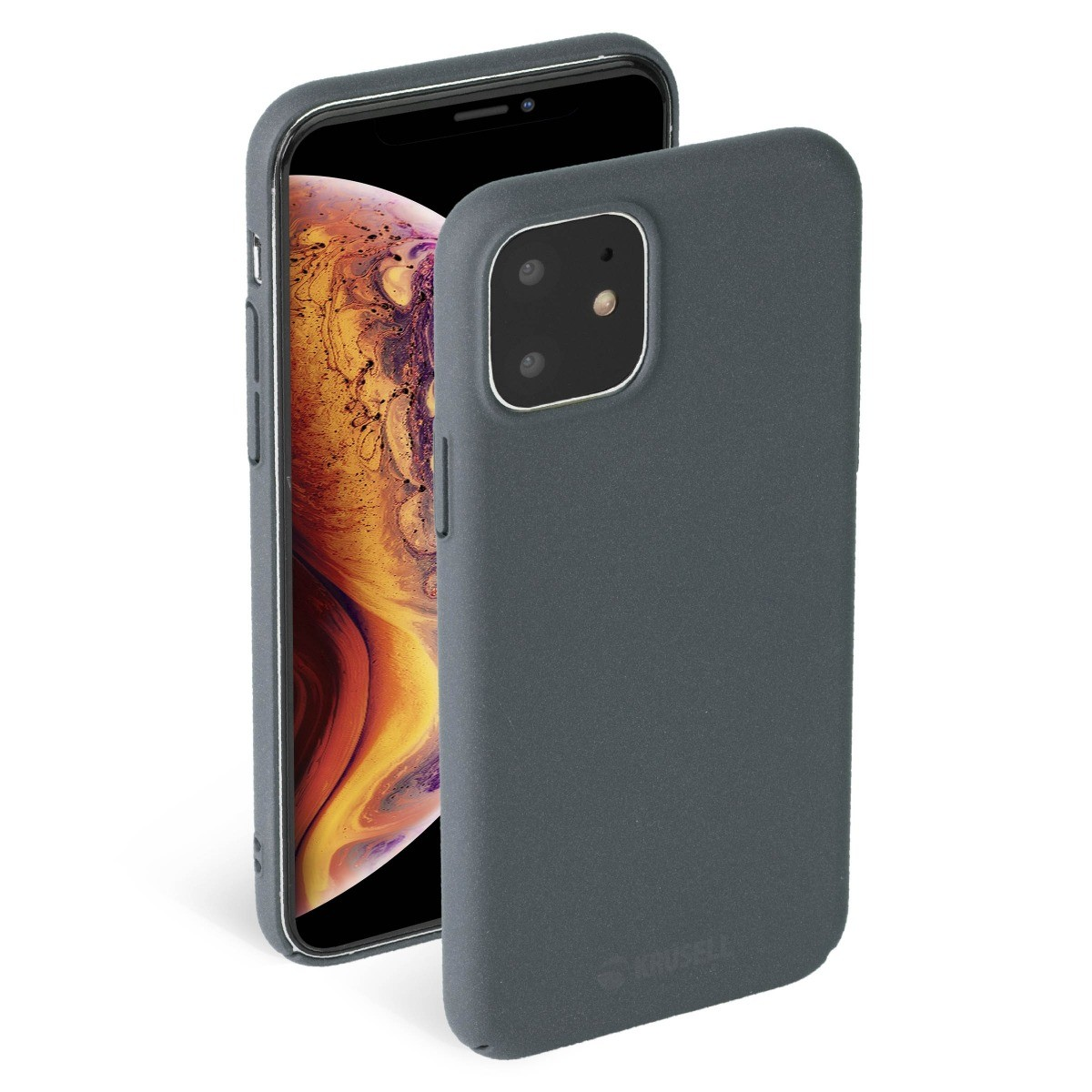 Krusell Sandby Cover Apple iPhone 11  - Stone