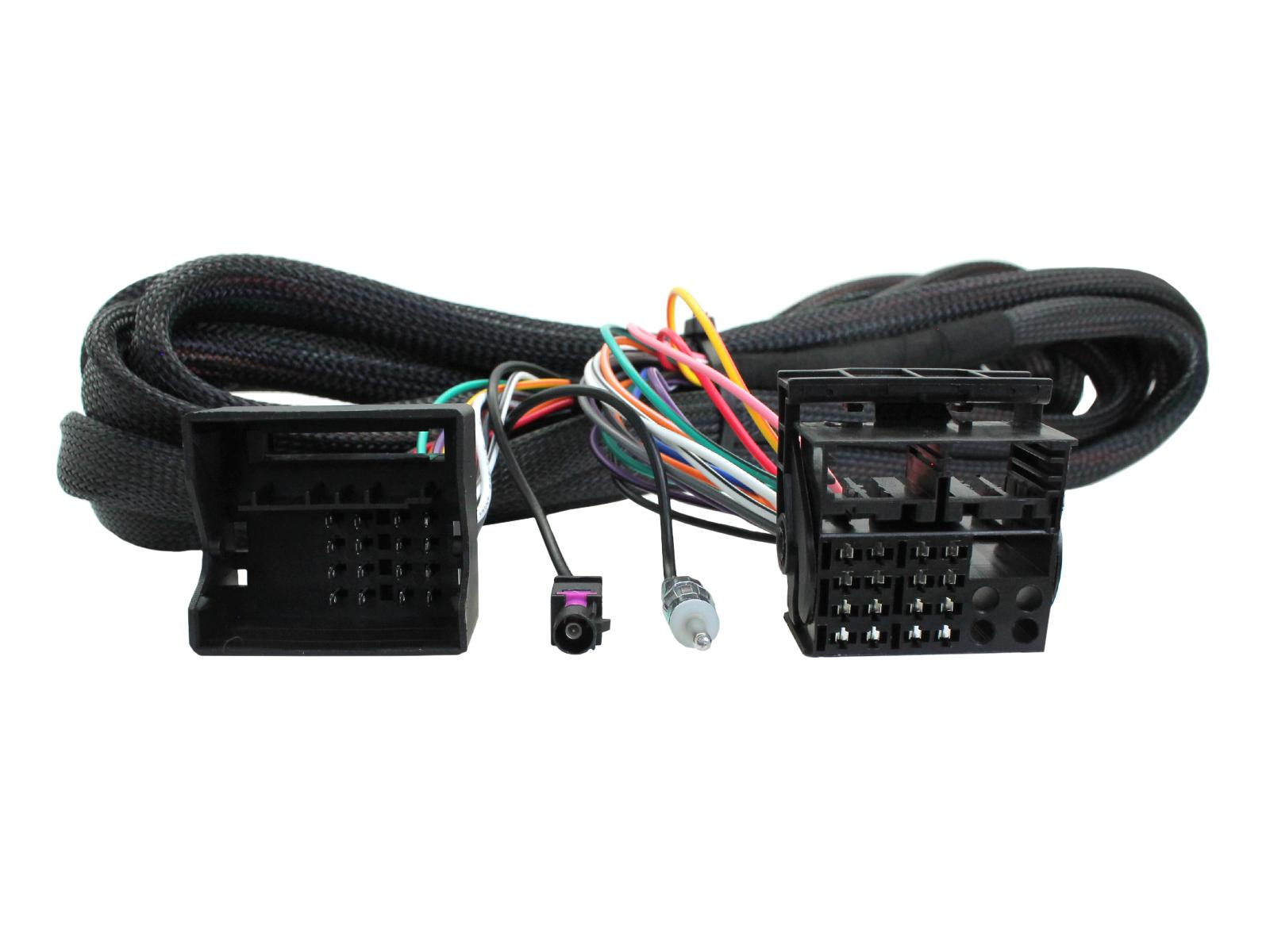 Quadlock extension cable 6.5m + antenna gradient BMW 3/5