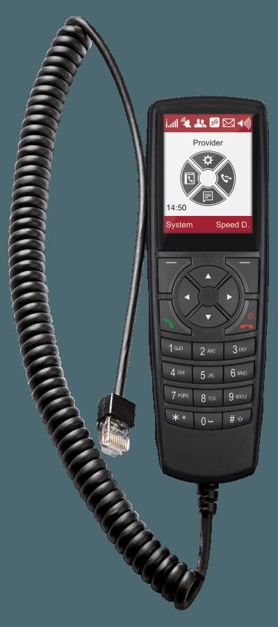 Pei Tel Handset HA 59 voor  PTcarphone 5xx kleurenscherm
