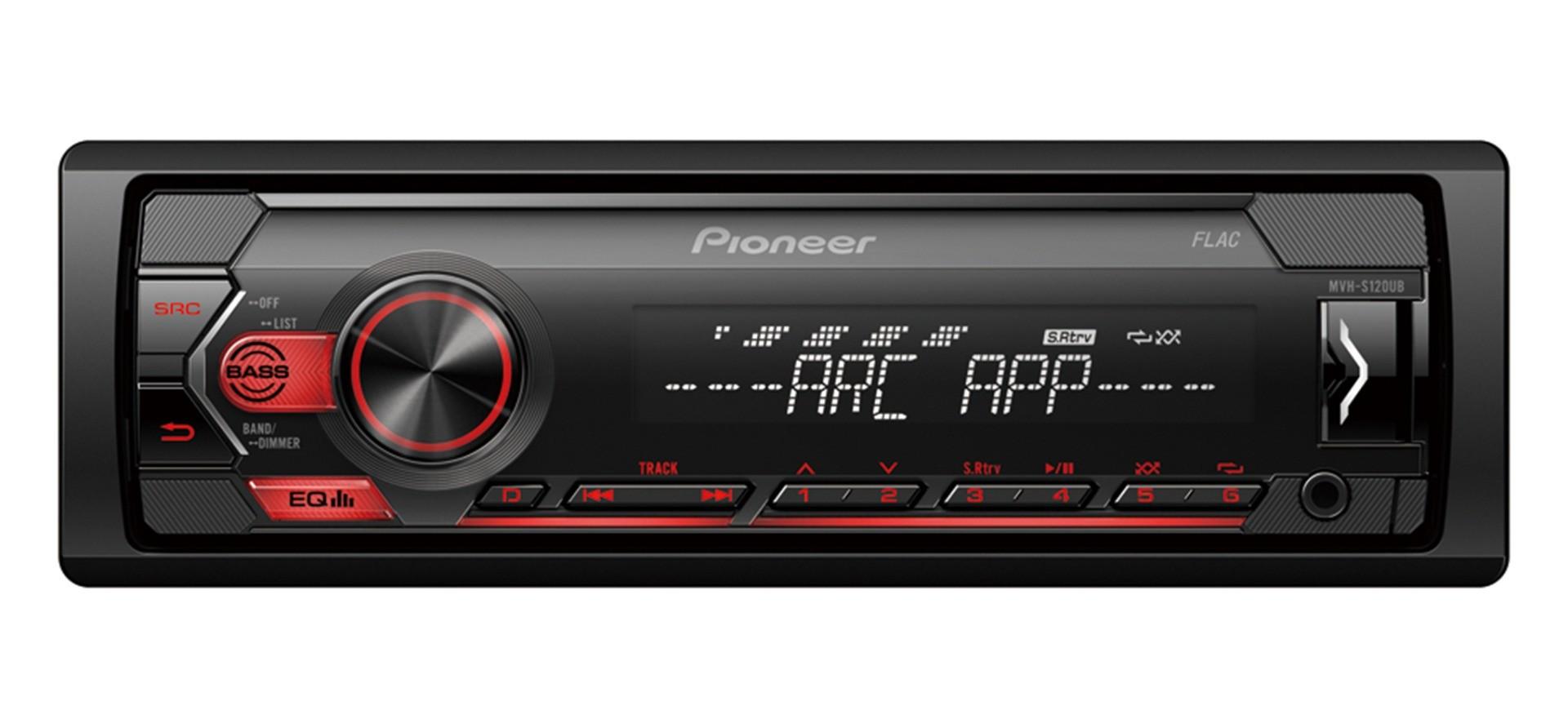 Pioneer MVH-S120UB  Receiver 1DIN USB