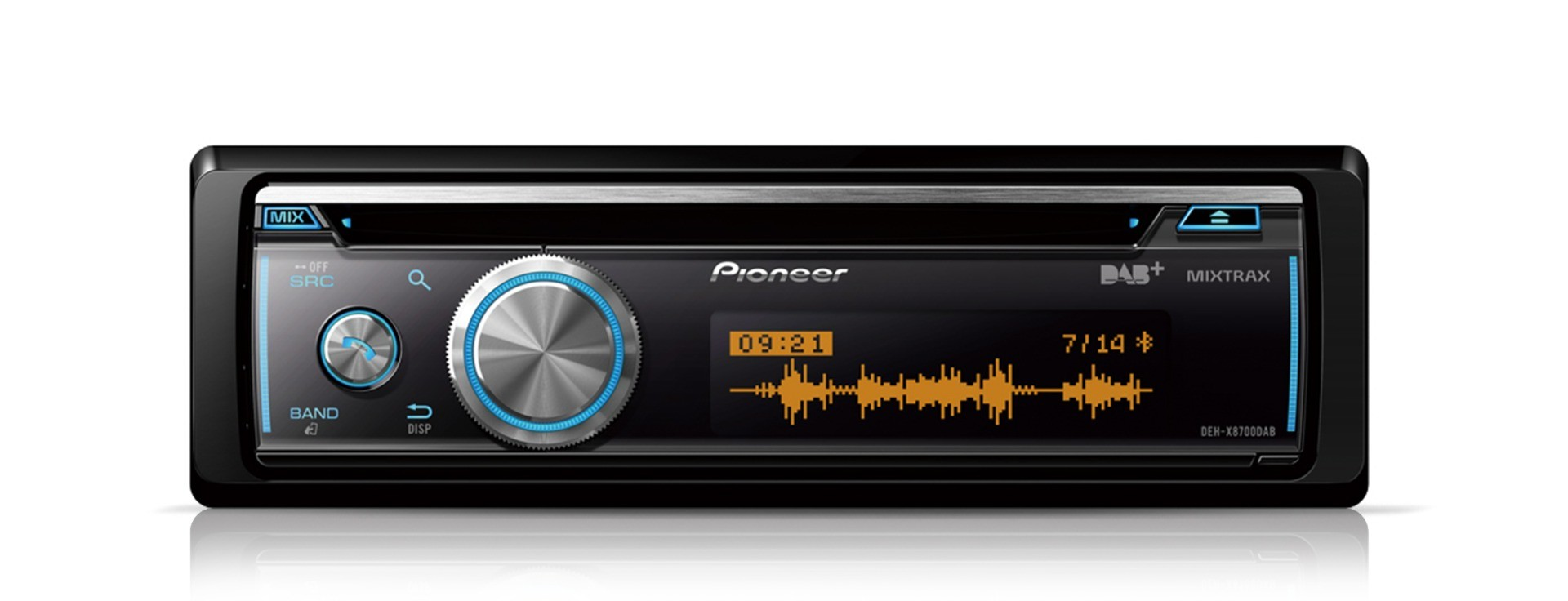 Pioneer DEH-X8700DAB 1DIN DAB/CD/USB/BT/AUX