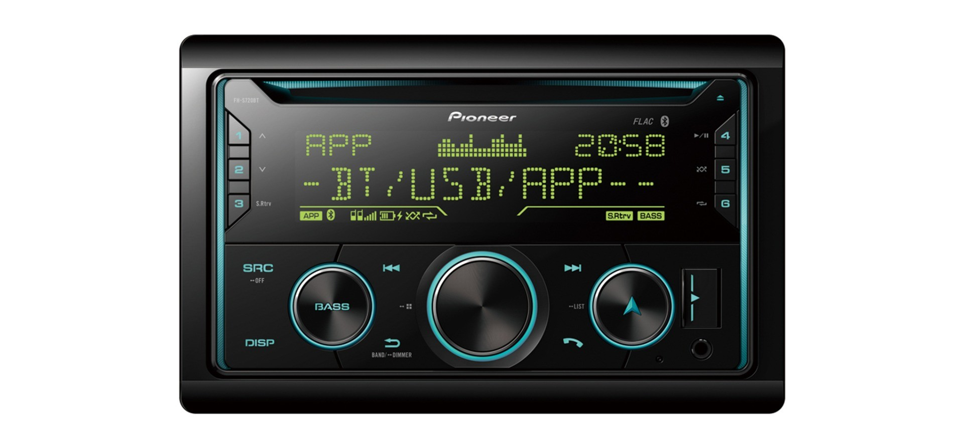 Pioneer FH-S720BT Receiver 2-DIN