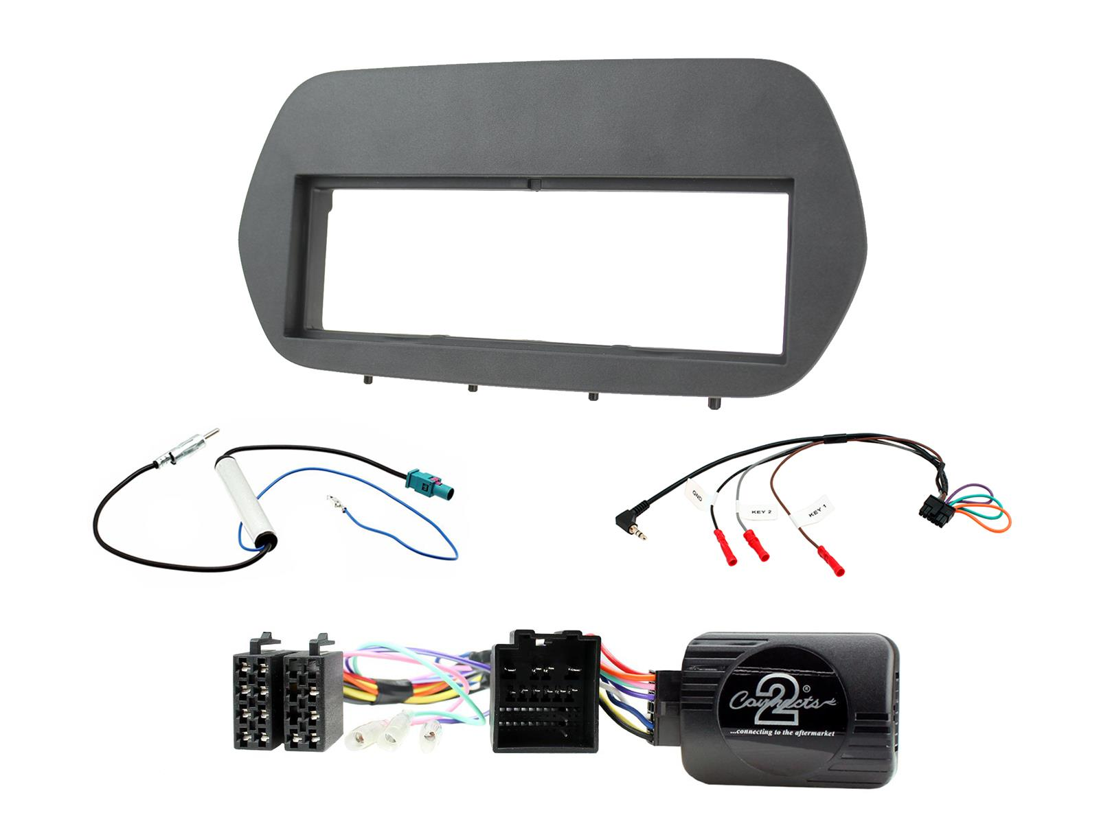 1DIN KIT Ford Fiesta 2018 - only with Sync3 oem