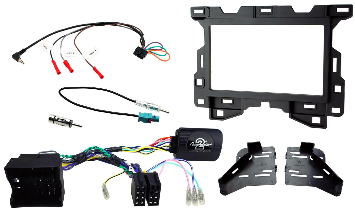 2DIN KIT Mercedes Sprinter MBUX 2018 -