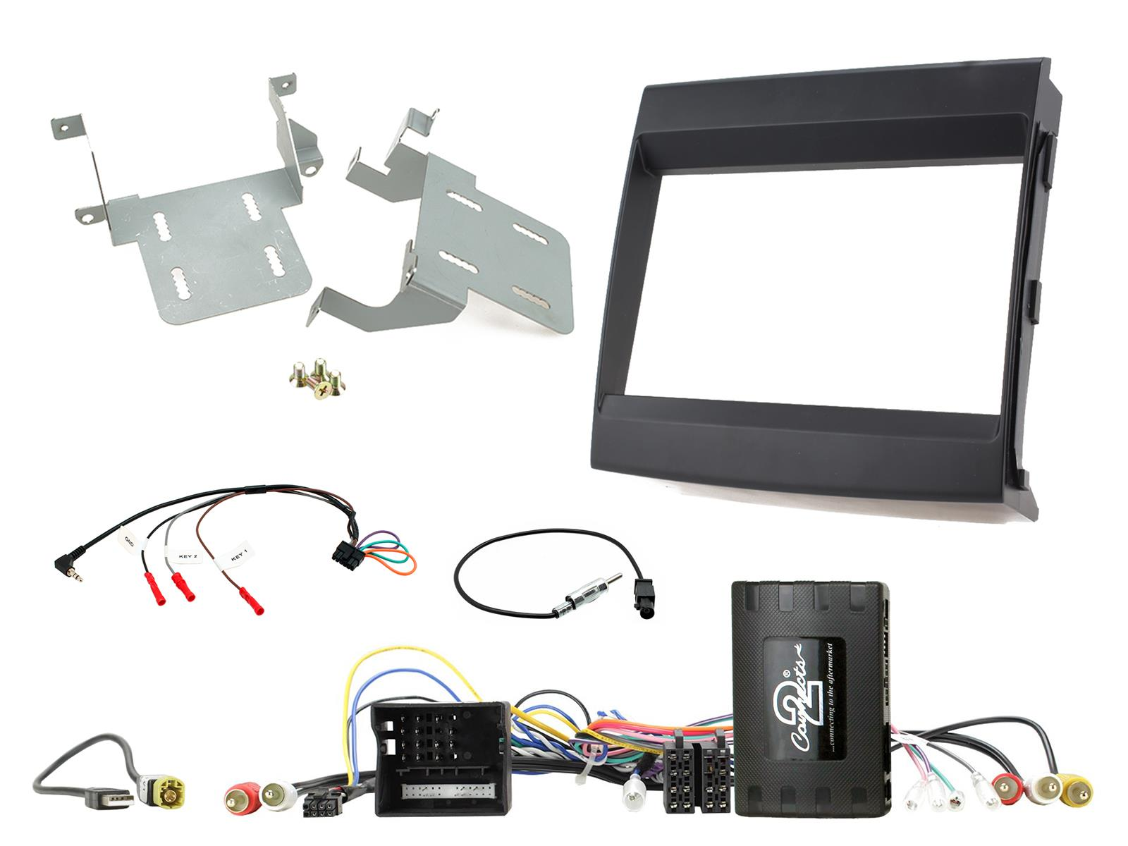 2DIN KIT Porsche Cayenne 2011-2016 + pdc image/cam retention