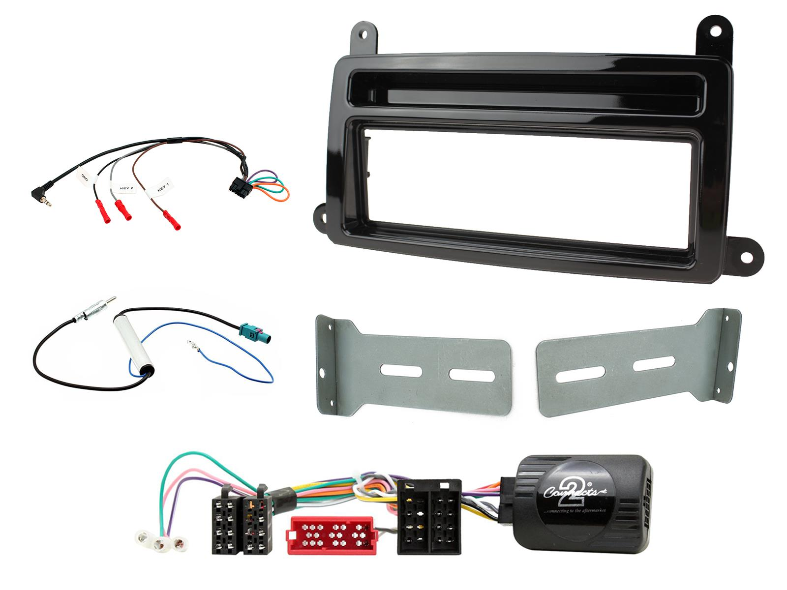 2DIN KIT Renault Clio 2017 - without oem navi
