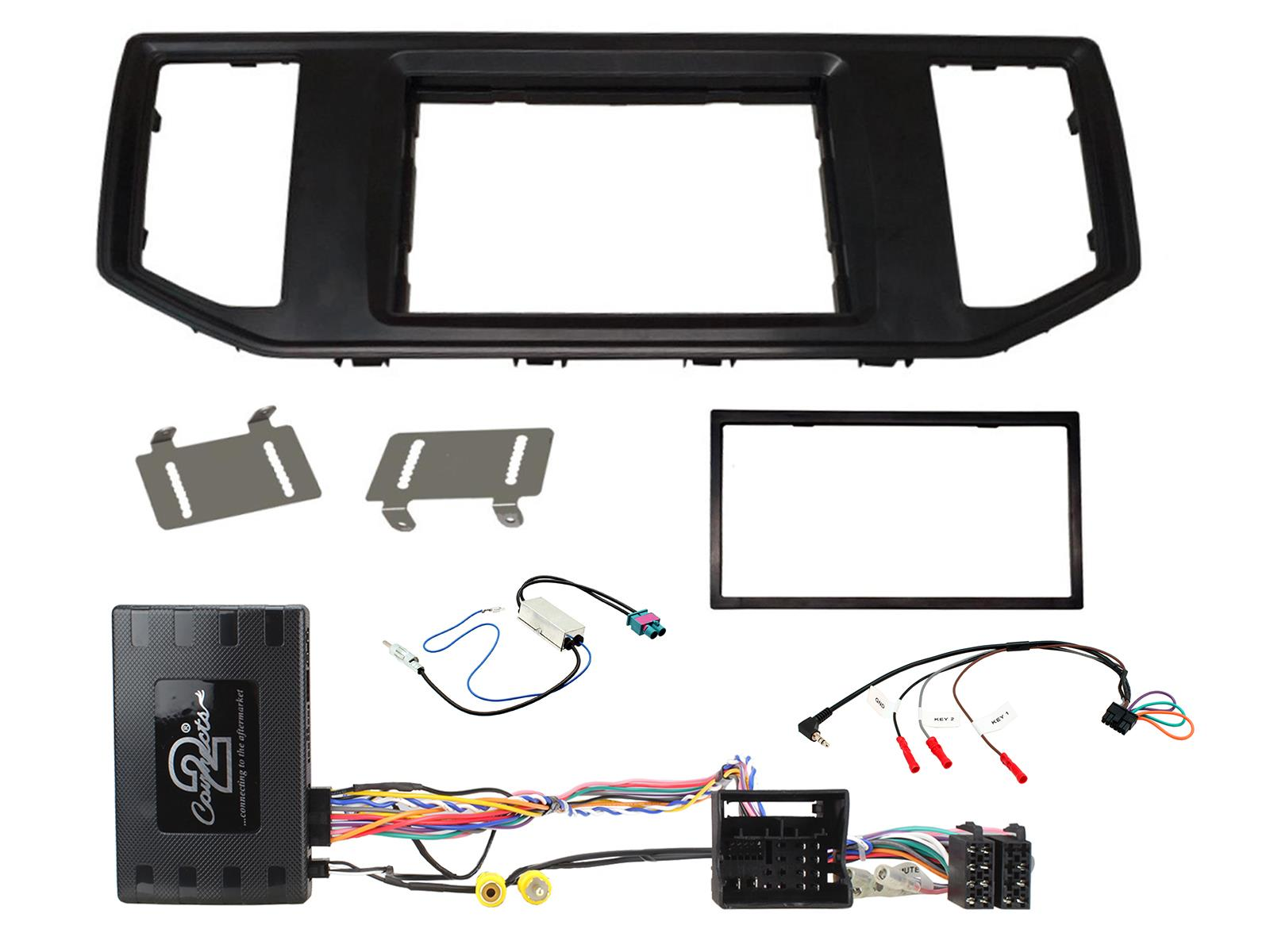 """2DIN KIT VW Crafter 2017- / Man TGE 2017 with OEM 8"""""""