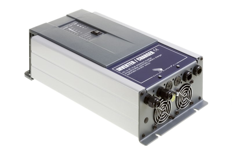 Omvormer 12V - 230V 1300W / accu charger 60A / 16A relay
