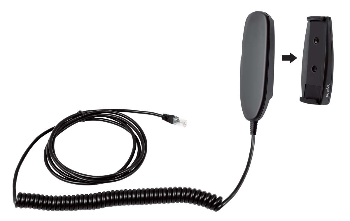 Bury extra (blinde) hoorn voor CP1000 Car Phone 2,8