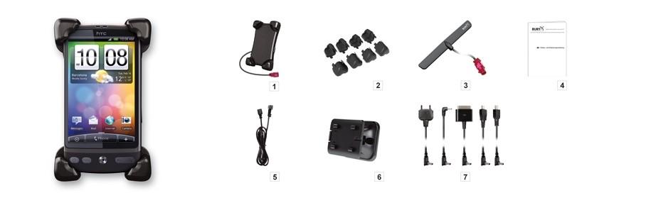 Bury Charging Cradle Houder/Lader Smartphones