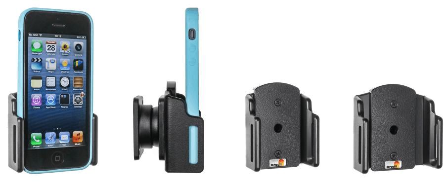 Brodit holder adjust. Apple iPhone SE/5/5S 59-63/6-10mm