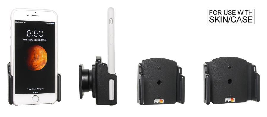 Brodit adjustable holder Apple iPhone 7/8/X/Xs 62-77/2-10mm