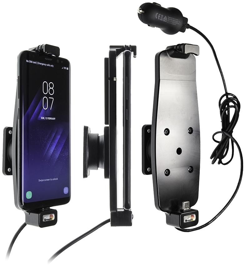 Brodit AH Samsung Galaxy S8/S9/S10 with skin USB sig.plug