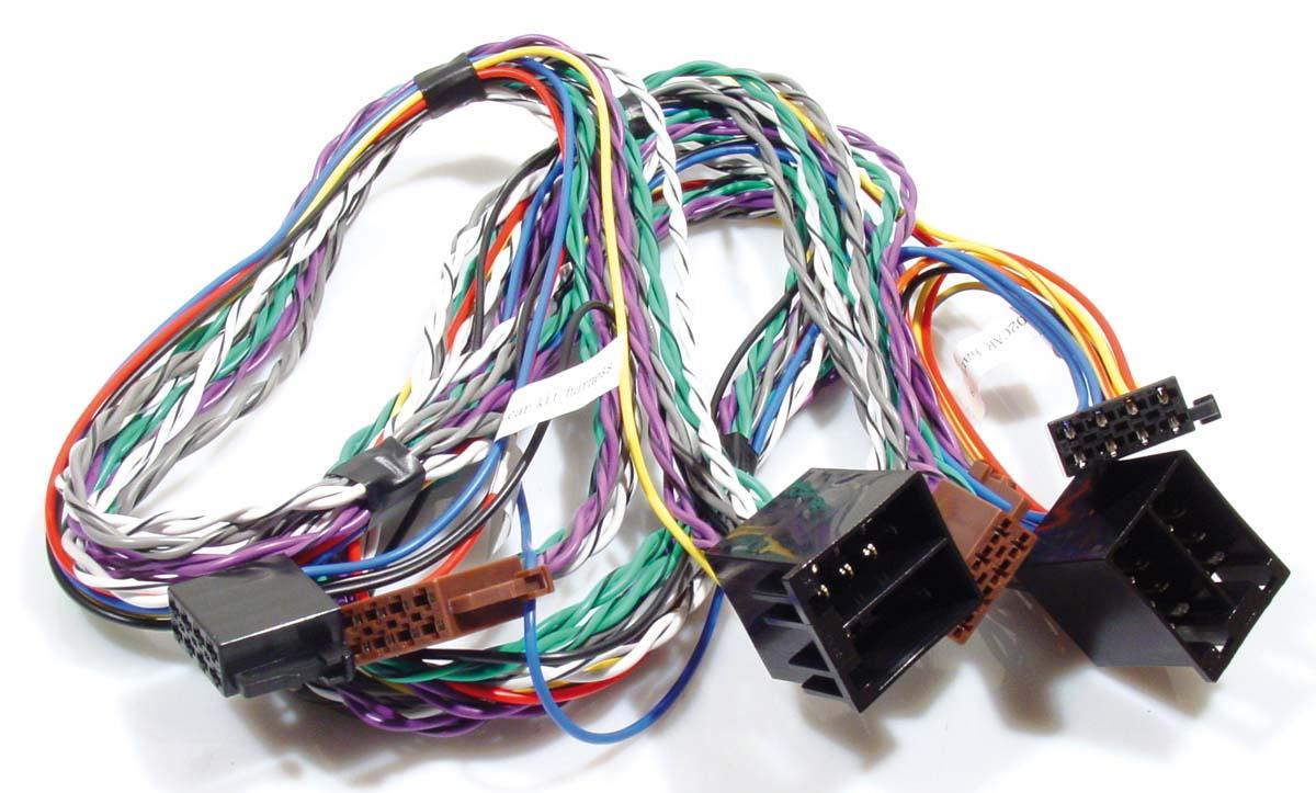 ISO2CAR verlengkabel voeding en speakers 1¼ meter