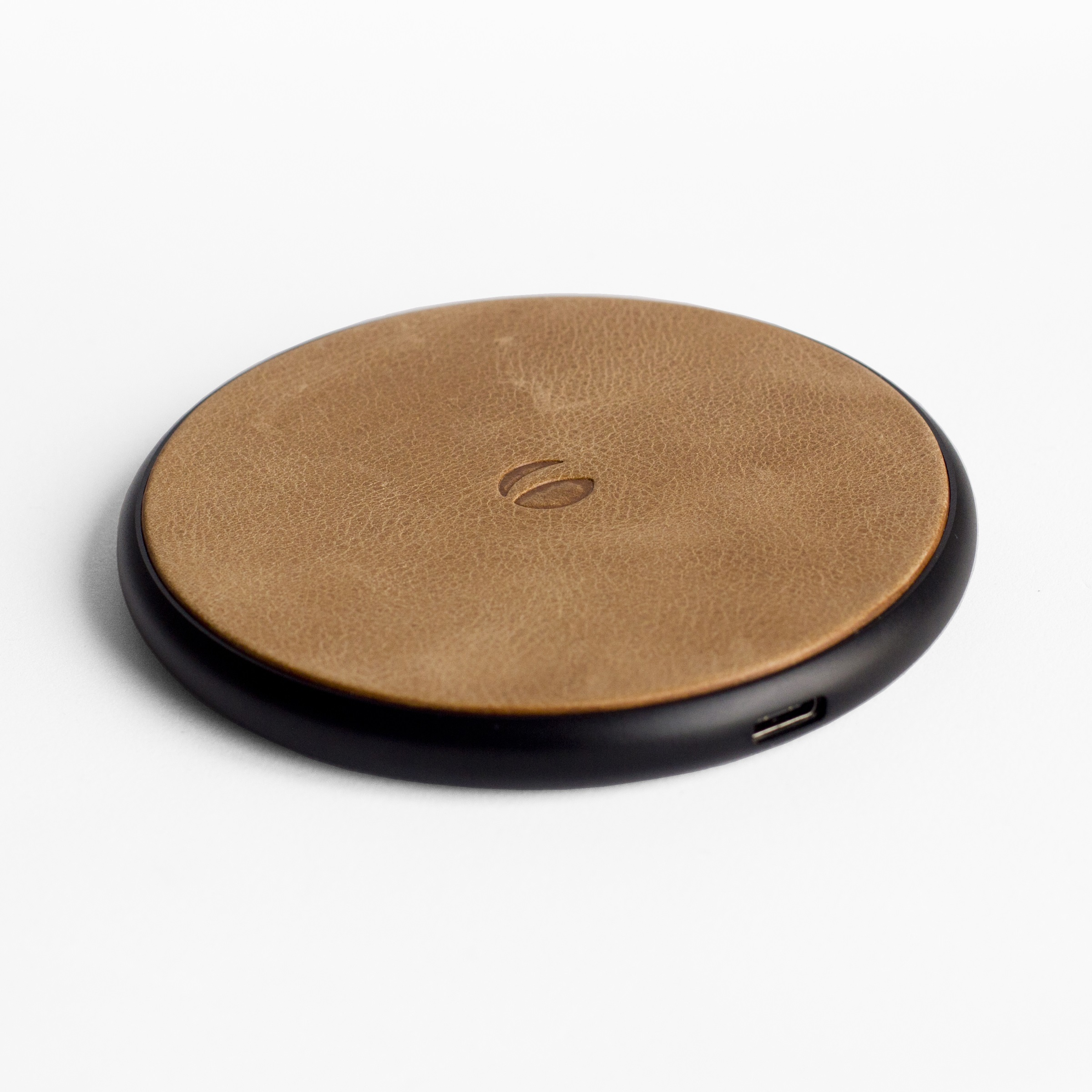 Krusell Sunne Wireless Charger Universal- Vintage Nude