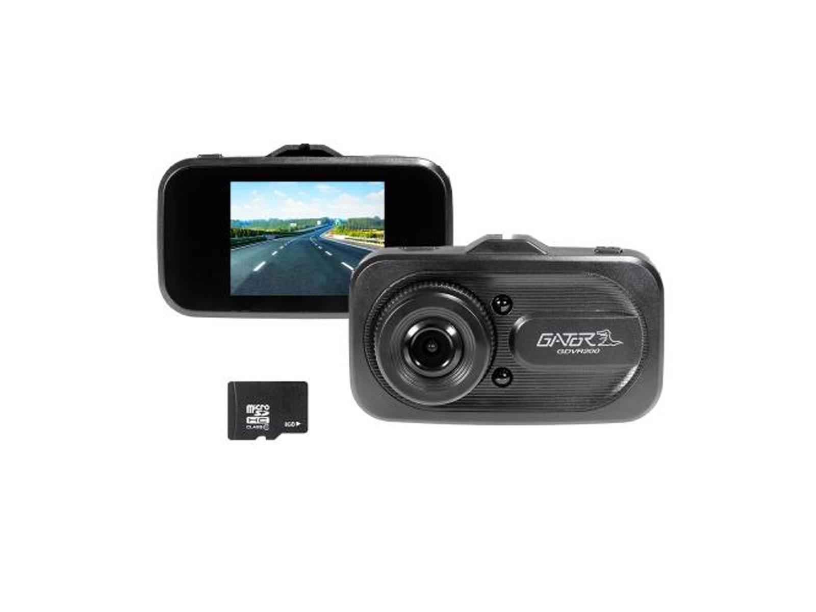 Gator dashcam 720 HD + Display + 8GB Micro SD