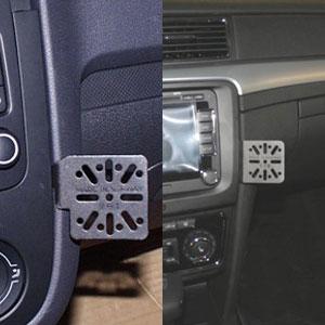 Dash Mount VW Golf V 04-09/Skoda Superb 09-
