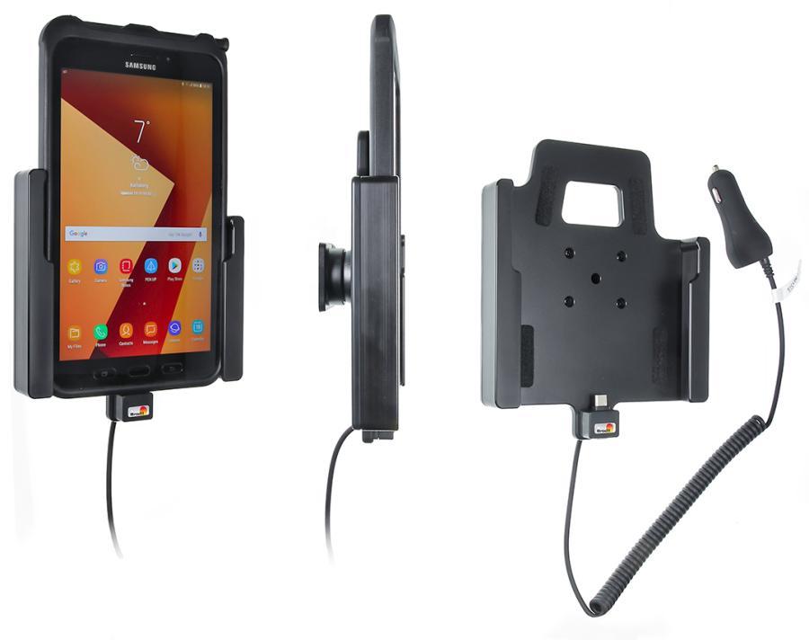 Brodit holder/charger Samsung Galaxy Tab Active 2 cig.plug