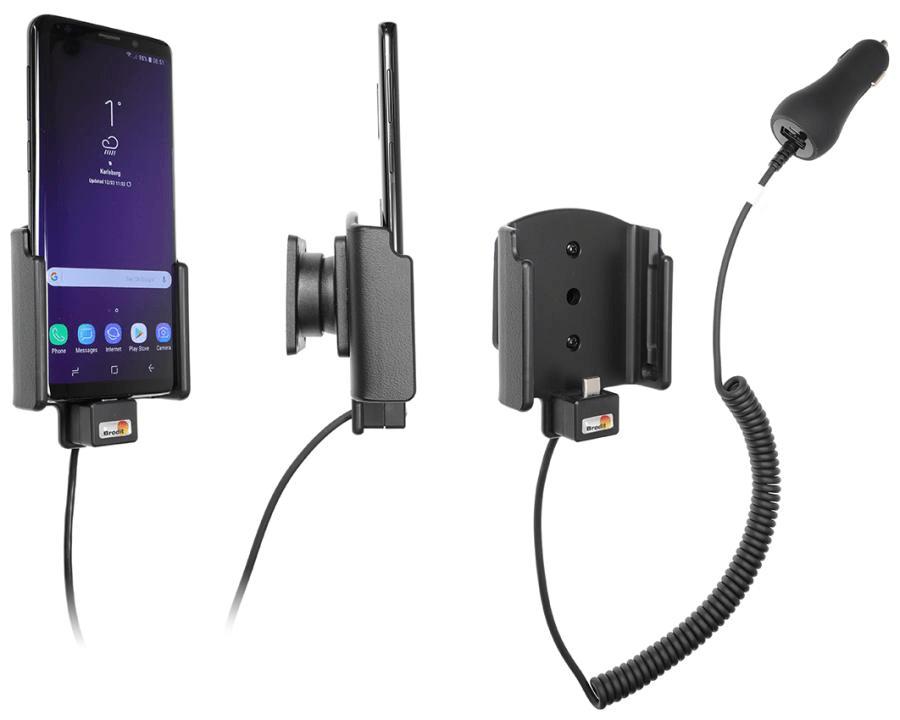 Brodit holder/charger Samsung Galaxy S9 cig.plug