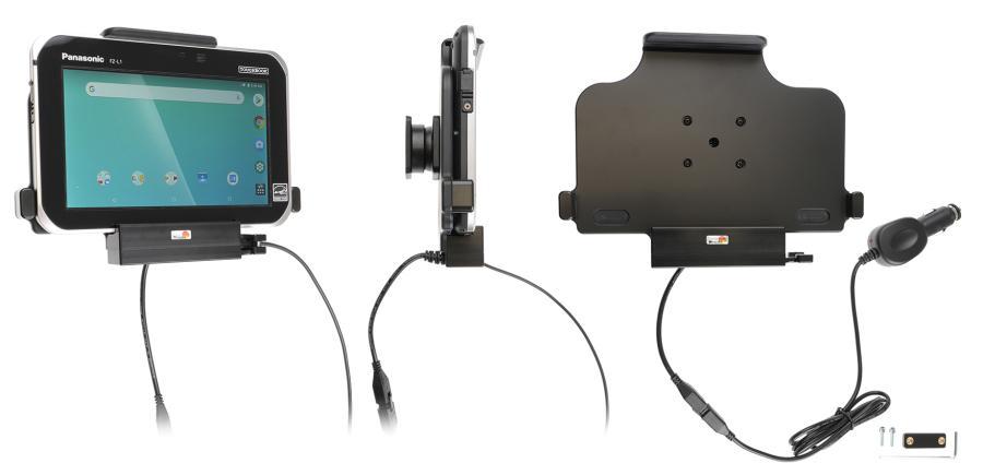 Brodit Active holder Pan.Toughbook FZ-L1 USB Host cig.plug