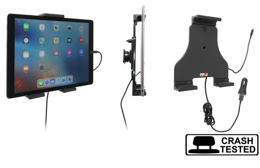 Brodit AH tablet adjust.180-230mm USB sig.plug-lightning