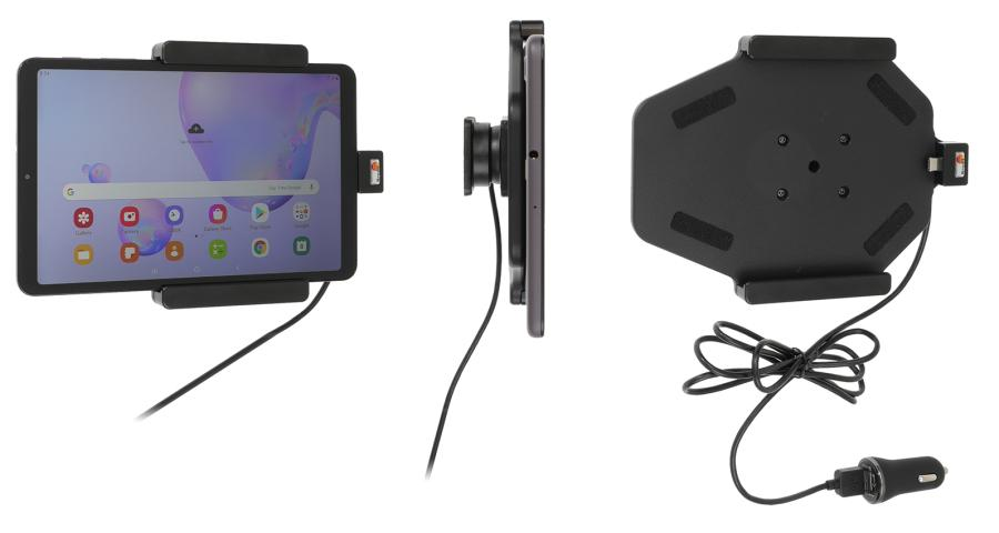 Brodit holder with Ladecable Samsung Tab A 8.4 (2020)