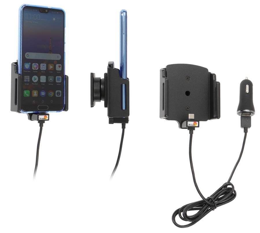 Brodit AH USB-C adjust. b.70-83/d2-10mm USB sig.plug