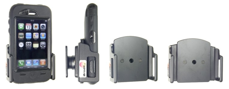 Brodit houder verstelbaar 62-77/12-16mm bxd