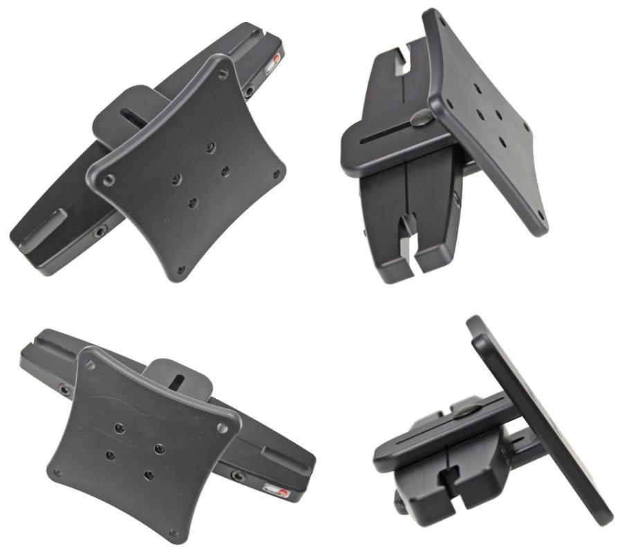 Brodit headrest mount for Vesa 123/183mm