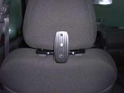 Brodit headrest mount 123-183mm