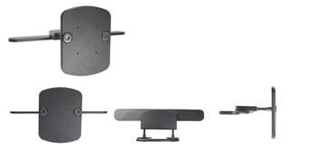 Brodit headrest mount Volvo XC90 02-11(build in screen)
