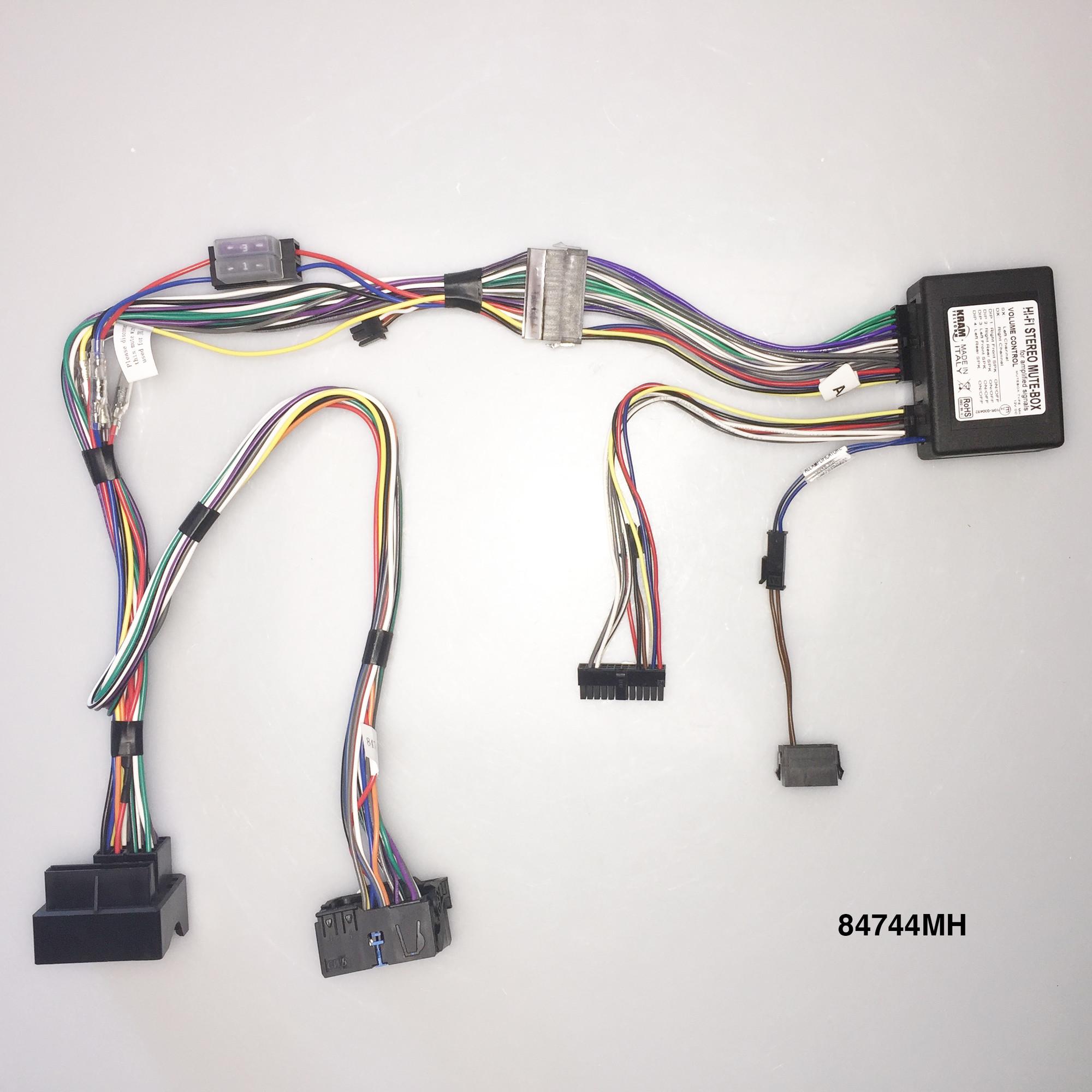 Kram Audio2Car HiFi Soft Mute Stereo Citr.C4/C5/Peu.407 04-J