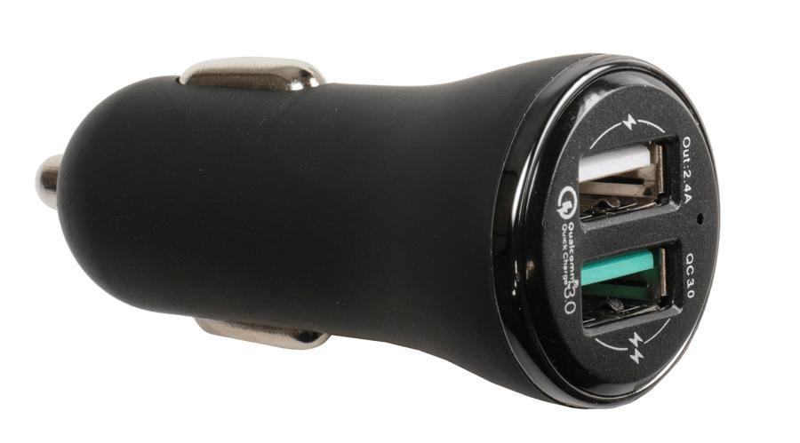 Brodit USB sig.plug Qualcomm Quick Charger 3.0 12/24V