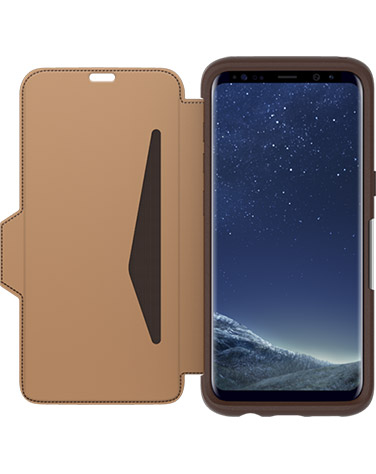 Otterbox Strada Case Samsung Galaxy S8 - Bruin (Saddle)